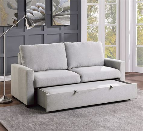 Promo L Couch With Pull Out Bed