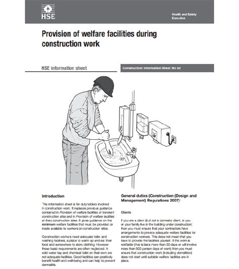 [pdf] Provision Of Welfare Facilities During Construction Work.