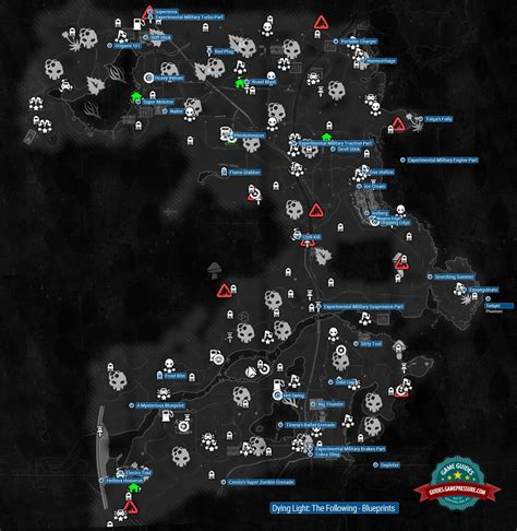 Ps4 Dying Light Blueprints
