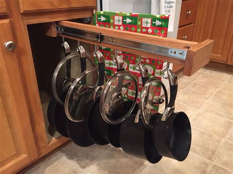 Pull Out Pot Rack Diy Halloween