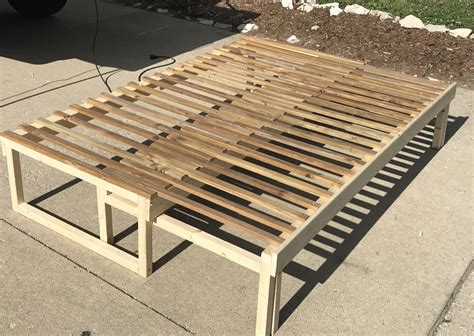 Pull Out Slat Bed Plans