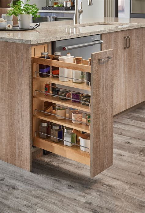 Pull Out Spice Rack Cabinet Plans