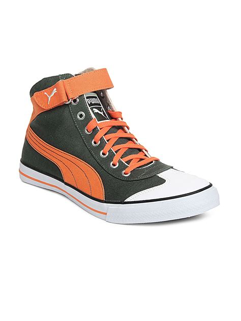 Puma 917 Mid 2.0 Ind Sneakers Myntra