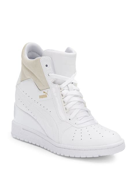 Puma Advantage High-top Wedge Sneaker Womens