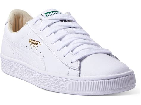 Puma Basket Classic Sneakers In White