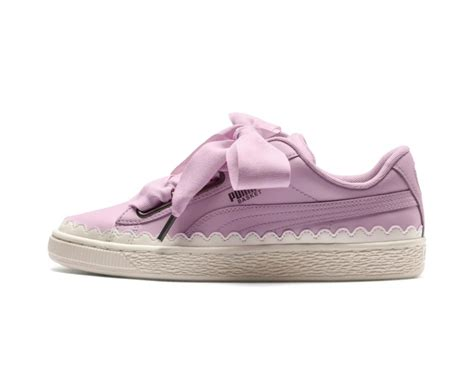 Puma Basket Heart Scallop Sneaker