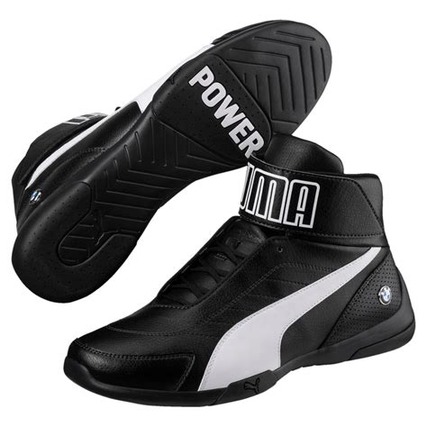 Puma Bmw M Power Mid Black Sneakers