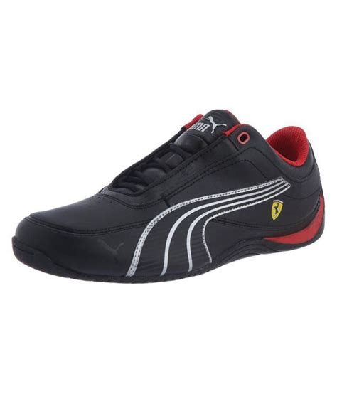 Puma Drift Cat 4 L Ferrari Jr Black Sneakers
