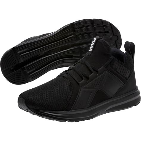 Puma Enzo Black Sneakers Mens