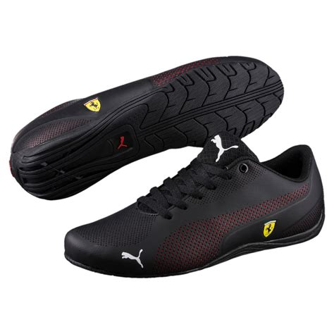 Puma Ferrari Drift Cat 5 Ultra Sf Black Sneakers