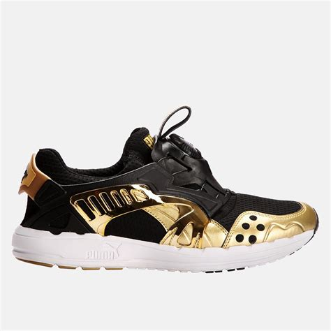 Puma Future Disc Lt Opulence Men's Sneaker Gold Size 10