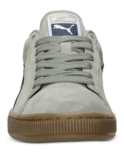 Puma Gray Casual Sneakers For Men
