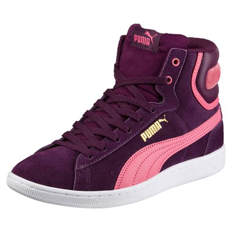 Puma Hightop Sneakers Vikky Mid Perforated