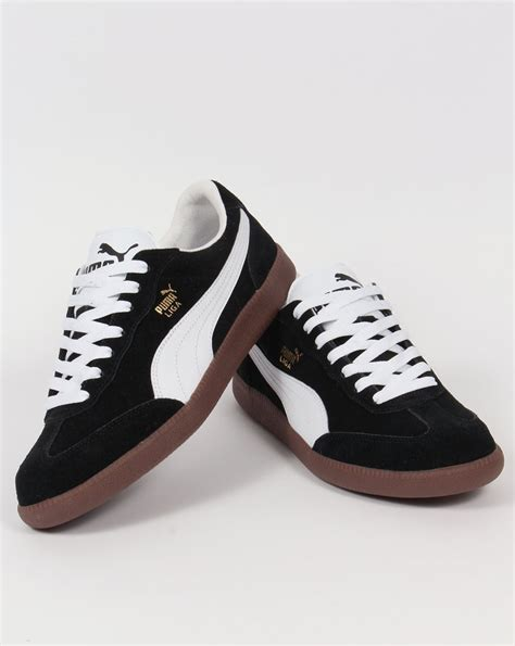 Puma Liga Black And White Sneakers