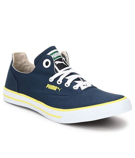 Puma Limnos Blue Sneakers