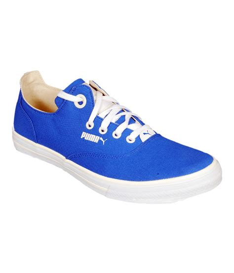 Puma Limnos Cat 3 Dp Canvas Sneakers Blue