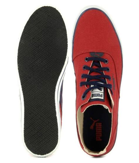 Puma Limnos Cat 3 Dp Red Sneakers