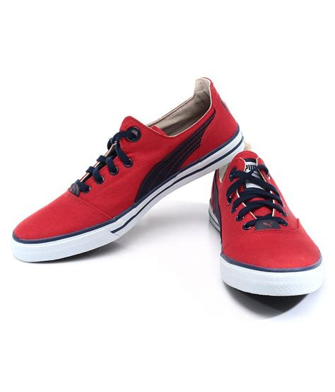 Puma Limnos Red Sneakers