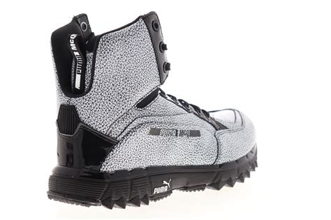 Puma Mcq Cell Leather Mid Top Sneakers