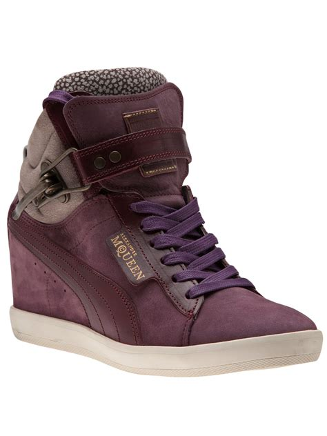 Puma Mcqueen Wedge Sneakers