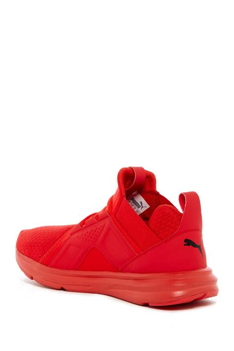 Puma Men Enzo Mid Sneaker Red