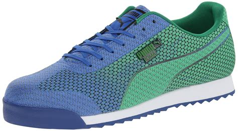 Puma Men's Roma Woven Mesh Lace Up Fashion Sneaker