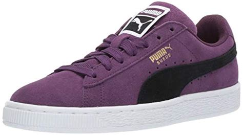 Puma Men's Suede Classic Fashion Sneaker Purple