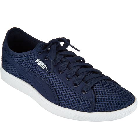 Puma Mesh Lace Up Sneakers