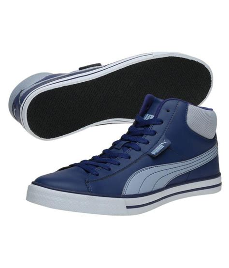 Puma Mid Dp Blue Sneakers