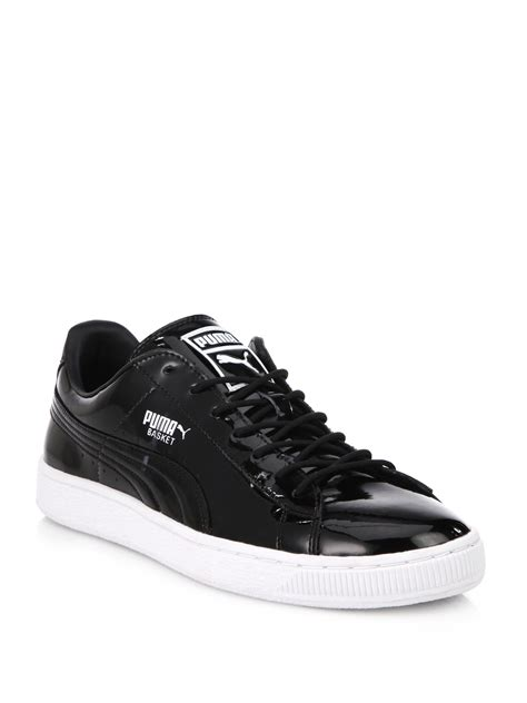 Puma Patent Leather Sneakers