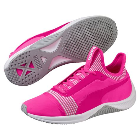 Puma Pink Sneakers Womens