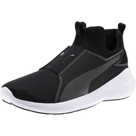 Puma Rebel Mid Women's Sneakers Black