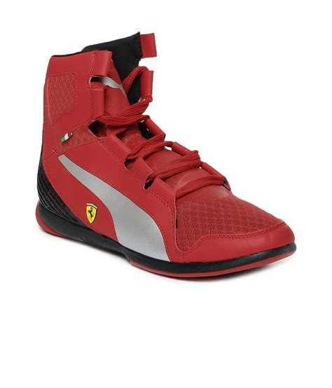 Puma Red Sneakers India