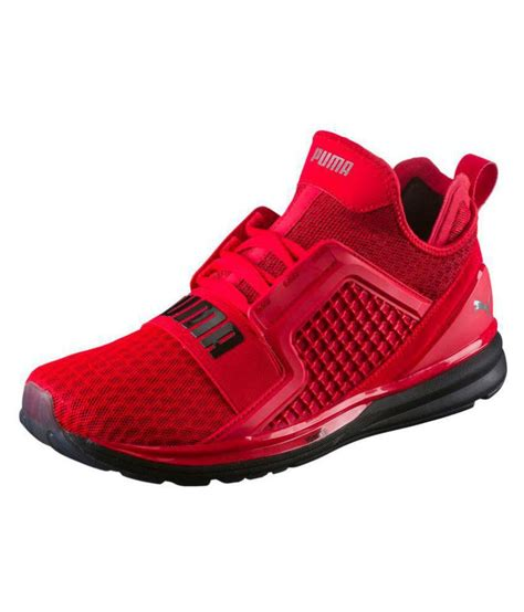 Puma Red Sneakers Jabong