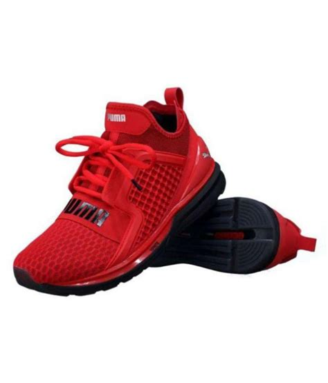 Puma Red Sneakers Price