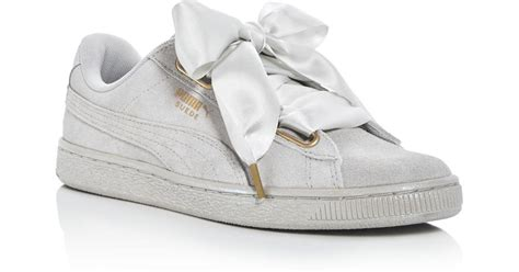 Puma Satin Lace Sneakers
