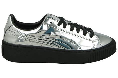 Puma Silver Metallic Sneakers