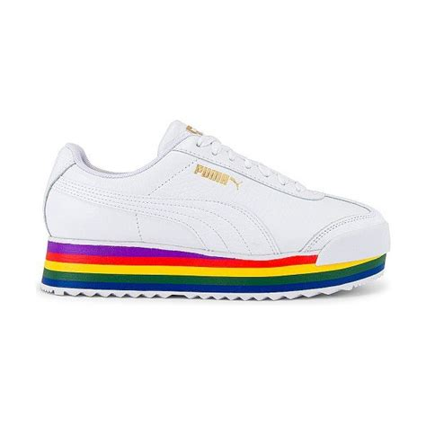 Puma Sneakere Woith Rainbow Inside