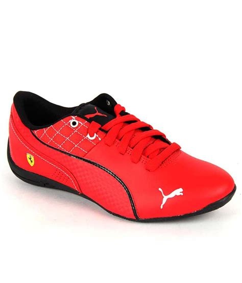 Puma Sneakers Red Casual Shoes