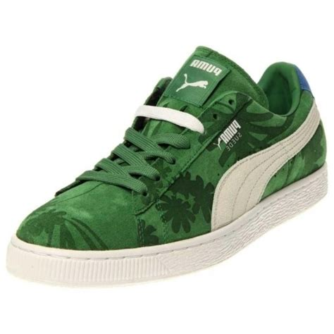 Puma Sneakers White And Green