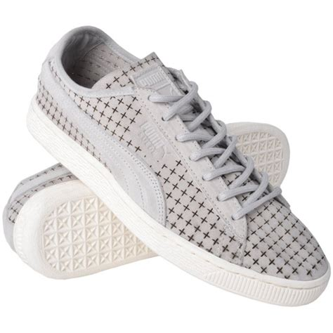 Puma Suede Courtside Perforated Sneakers