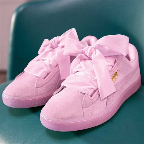Puma Suede Heart Reset Sneaker Prism Pink