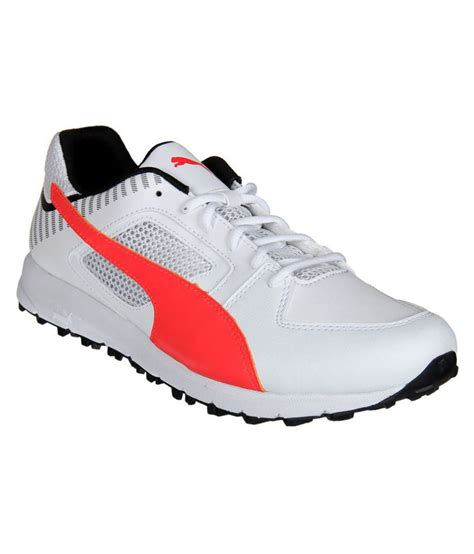 Puma White Sneakers Online India