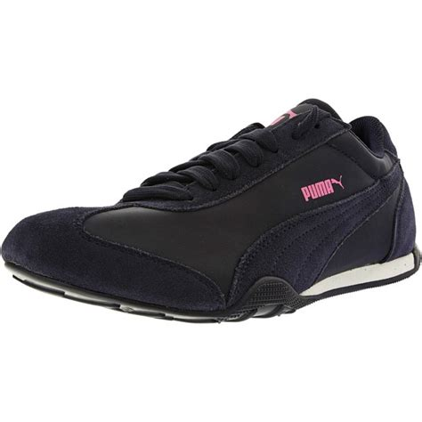 Puma Women's 76 Runner Fun Peacoat Peacoat Ankle-high Fashion Sneaker
