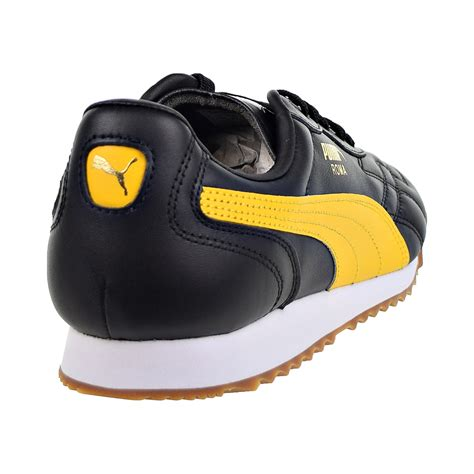 Puma Yellow And Black Sneakers