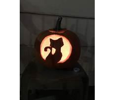 Best Pumpkin cat carving ideas