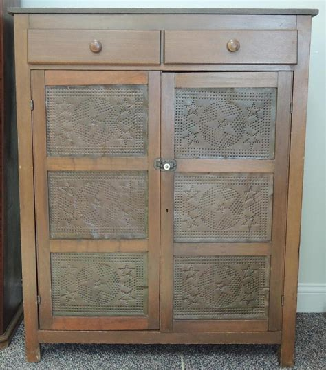 Punched Tin Panels For Pie Safes With Tin