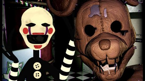 Puppet Plays Five Nights At Candys Night