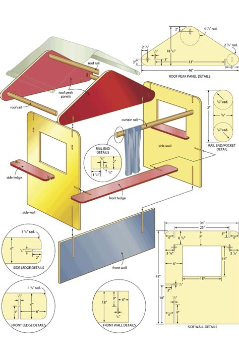 Puppet Show Stage Plans Wood