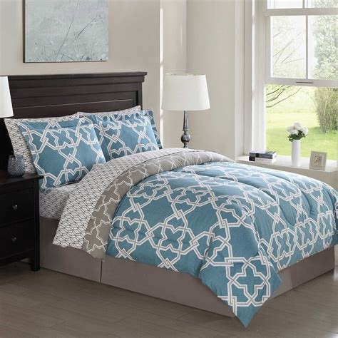 Purchase Gray And Teal Bedding